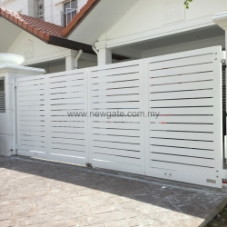 Fully Aluminium Gate