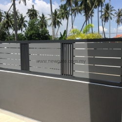 Fully Aluminium Fence