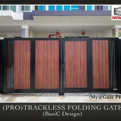 (PRO) Trackless Folding Gate (Basic Design)
